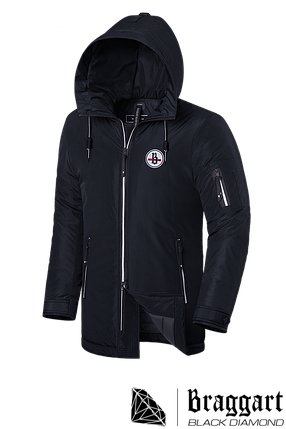 "Мужская зимняя куртка Braggart ""Black Diamond"" (р. 46-56) арт. 9071 D, фото 2"