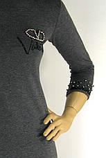 cукня  Valentino оброблена стразами і перлинками, фото 3