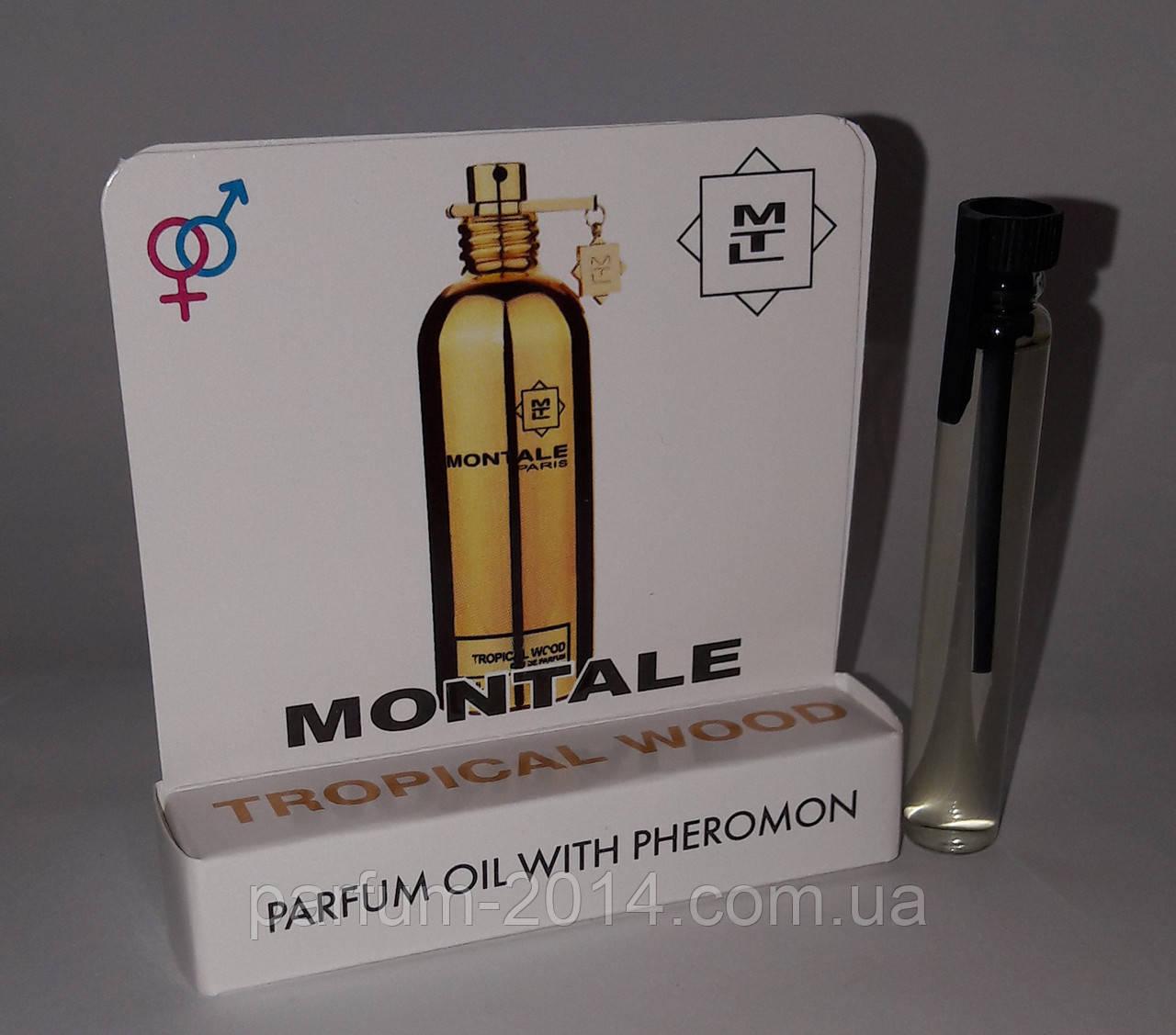 Масляные духи с феромонами Montale Tropical Wood 5 ml (реплика)