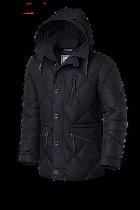 Мужская черная зимняя куртка Braggart (р. 48-58) арт. 17921 D, фото 2