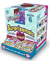 """Мягкая игрушка-сюрприз в шаре SURPRIZAMALS S6 15 видов в ассорт., в дисплее с """"окошком"""" (SUR20275W)"""