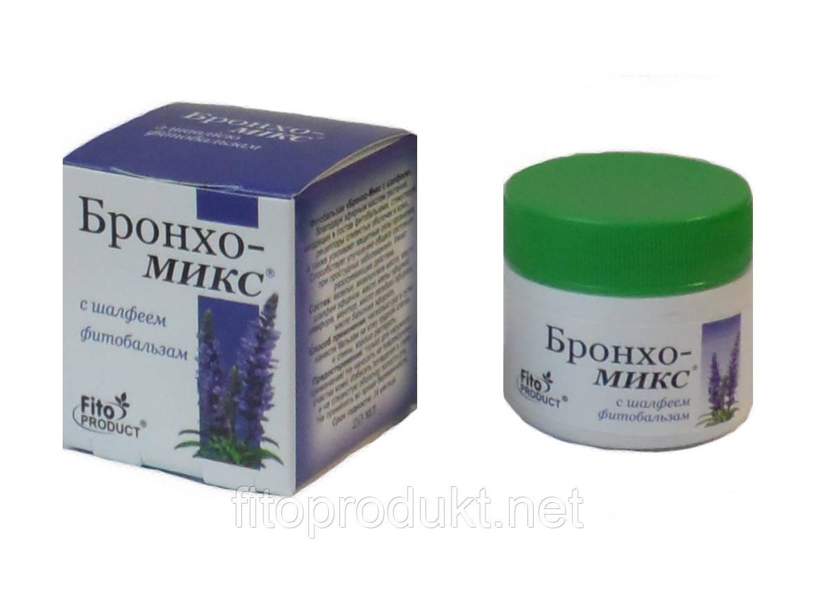 Бронхо Мікс з шавлією Фітобальзам 20 мл Фитопродукт