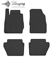 Резиновые коврики Stingray для Ford Fiesta  2013 - 2017   - комплект 4 шт.