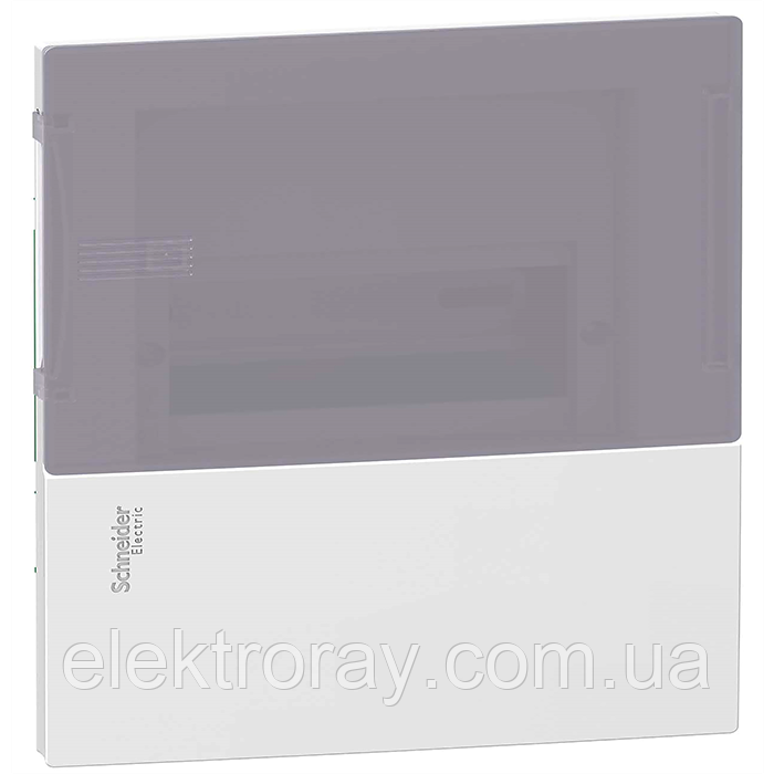 Щиток на 8 автоматов внутренний Mimi Pragma Schneider Electric дымчатая дверь