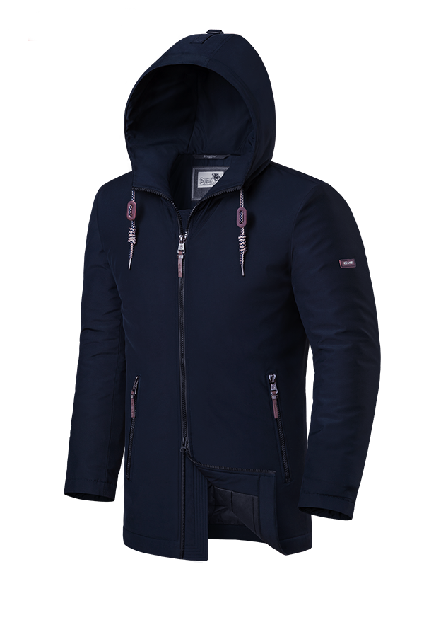 Мужская темно-синяя куртка Braggart Dress Code (р. 46-56) арт. 2066 M
