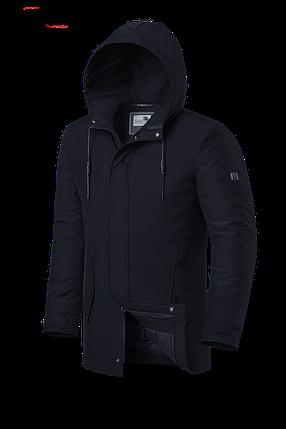 """Мужская черная зимняя куртка Braggart """"Dress Code"""" (р. 46-56) арт. 3780 D, фото 2"""