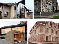 Гибкий камень ТермоРон для отделки и теплоизоляции фасадов