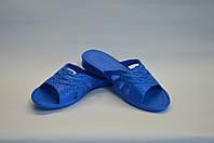 Шлепанцы цветок женские синие пена Dreamstan, фото 1