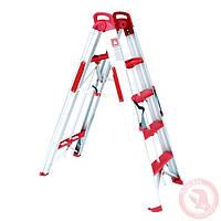Лестница-стремянка раскладная трансформер 1360 мм INTERTOOL