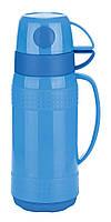Термос стеклянная колба Con Brio 1 л.СВ354 blue