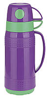 Термос стеклянная колба Con Brio 1 л.СВ354 purple