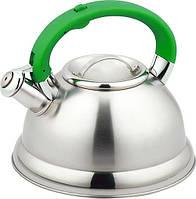 Чайник Con Brio 3 л.СВ409 зеленый/капсульн.дно Индукция