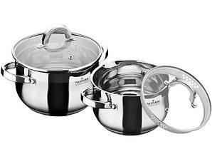 Набор посуды 4 предмета MAXMARK MK-BL6504A