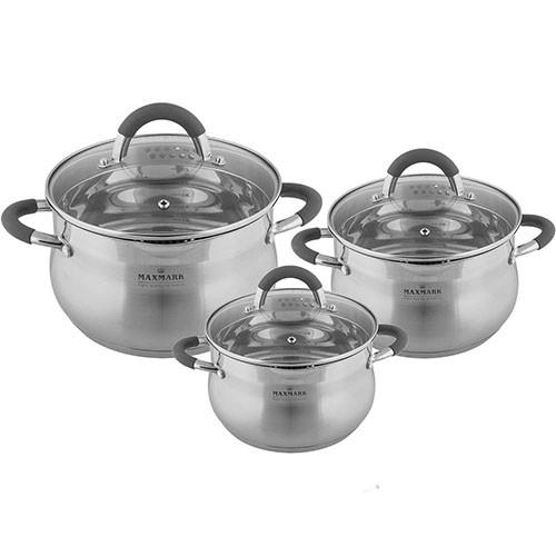 Набор посуды 6 предметов MAXMARK MK-VS5506F