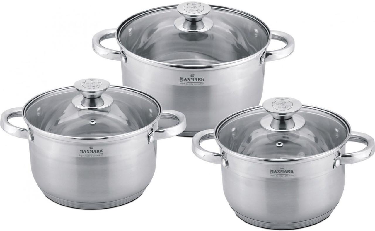 Набор посуды MAXMARK MK-3506B