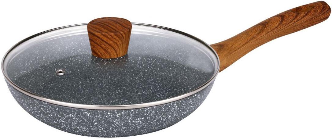 Сковорода с мраморным покрытием 26 см Maxmark MK-FP4526М