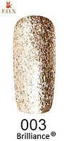 Гель-лак F.O.X. gold Brilliance № 003