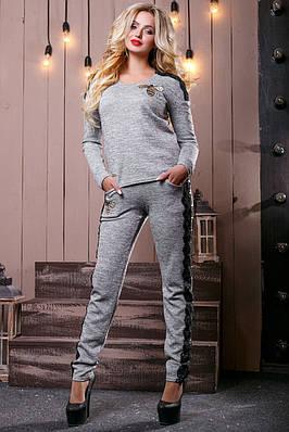 9d8699c95c8 Современный брючный костюм женский 2495 (42–48р) в расцветках  продажа