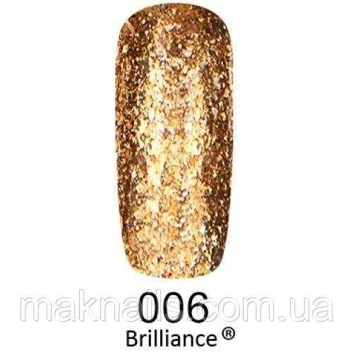 Гель-лак F. O. X. gold Brilliance № 006, яскраве золото