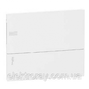 Щиток на 12 автоматов внутренний Mimi Pragma Schneider Electric белая дверь, фото 2