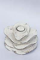 Декоративная роза/ роза-подсвечник ,13*10 см , фото 1