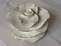 Декоративная роза/ роза-подсвечник, 17*10 см , фото 1