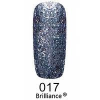 Гель-лак F. O. X. gold Brilliance № 017, королівський синій
