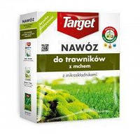 Удобрение TARGET гранулированный для газона с мхом (фасовка 4 кг)