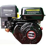 Двигатель бензиновый Loncin G200F  (6,5 л.с., шпонка, вал 20 мм)
