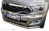 Защита переднего бампера для Ford Ranger 2017 - ...
