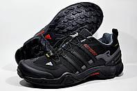 Кроссовки мужские в стиле Adidas Terrex Swift Gore-tex, Чёрные
