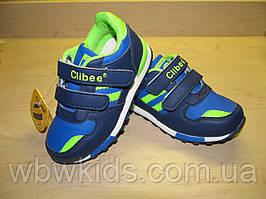 Кросівки Clibee F627 синьо-зелені 21р.