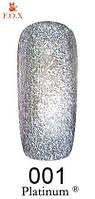 Гель-лак F.O.X Platinum 6 мл №001