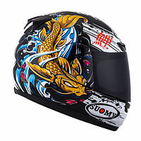 Suomy KSAP0027.8 Casco integrale Apex Jap Black / Gold 3Xl, фото 2