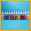 Набор Блесточек Мелких Цветных в Бутылочках, 12 шт. Глиттеры.