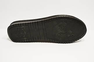 Балетки кожаные серебристые Euromoda 459, фото 3