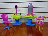Кукольная мебель Глория Gloria 2919 Салон красоты, фото 4