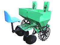 Картофелесажалка Агро двухрядная для минитрактора КСН-2м/310л