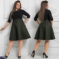 Платье (48, 50, 52-54, 56-58, 60-62) — неопрен купить оптом и в розницу в одессе  7км