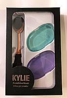 Набор для нанесения тональных средств Kylie Foundation Brush Silica Gel Powder