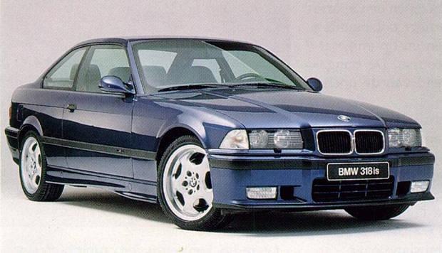 Лобовое стекло BMW 3 E36 купе (1992-1999)