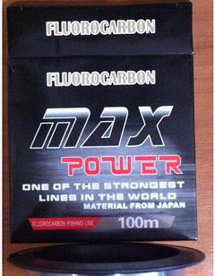 Леска MAX Power Fluorocarbon 100м