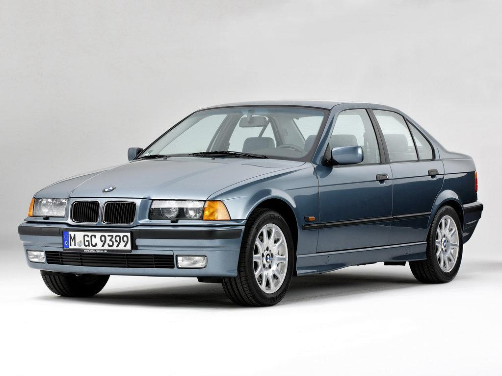 Лобовое стекло BMW 3 E36 седан с молдингом (1991-1997)