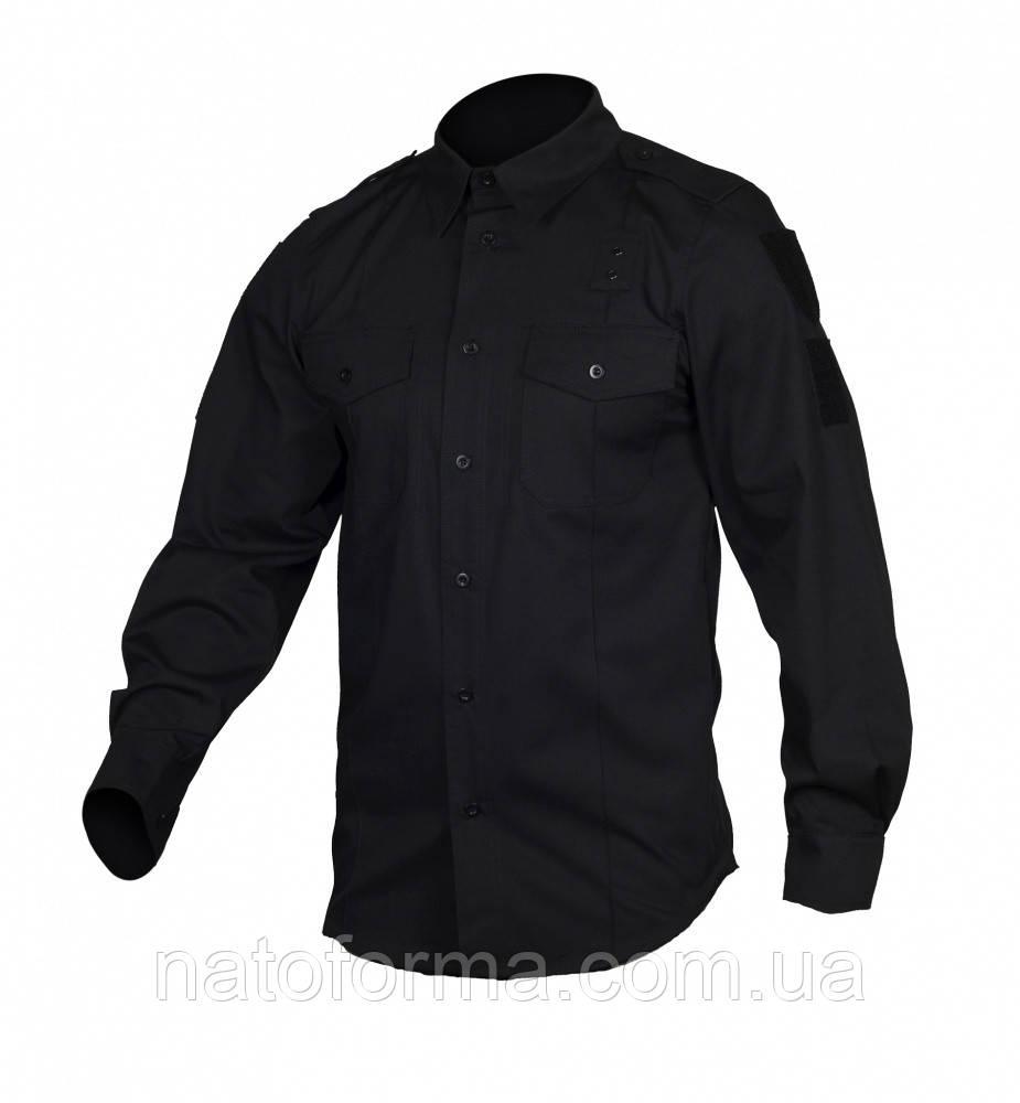 Рубашка полицейская POLICE LIGHT FLEX Черная M-Tac