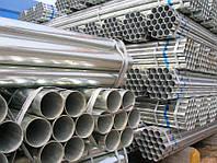 Труба оцинкованная 57 х 3 мм стальная электросварная ГОСТ 10705