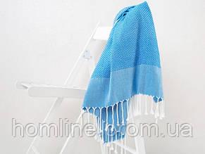 Полотенце пляжное Irya Bahama голубое 90*170