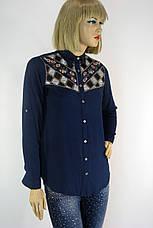 Жіноча сорочка вишита  бісером і паєтками Saloon 181, фото 3