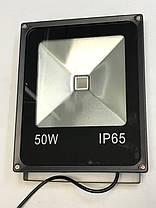 Светодиодный прожектор SL-50 50W красный IP65 Код.59204, фото 3