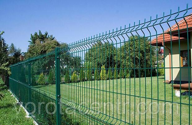 Сетка секционная с полимерным покрытием Заграда Эко 3х4 мм. 1260мм.