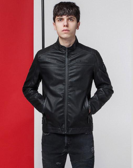 Куртка мужская весна-осень 3340 черная